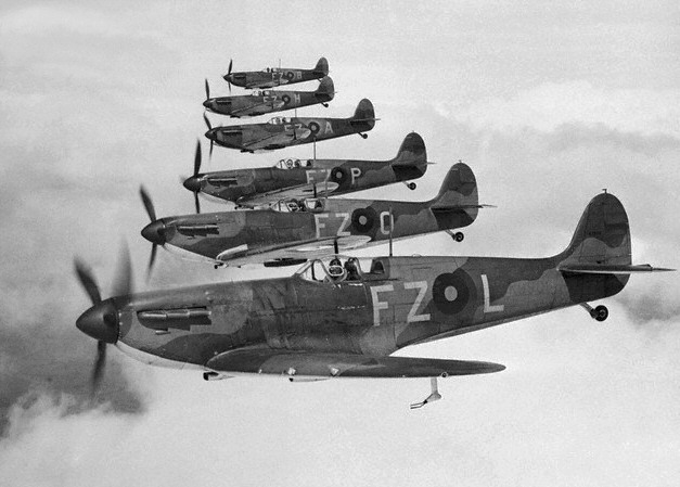Image result for spitfires 1940