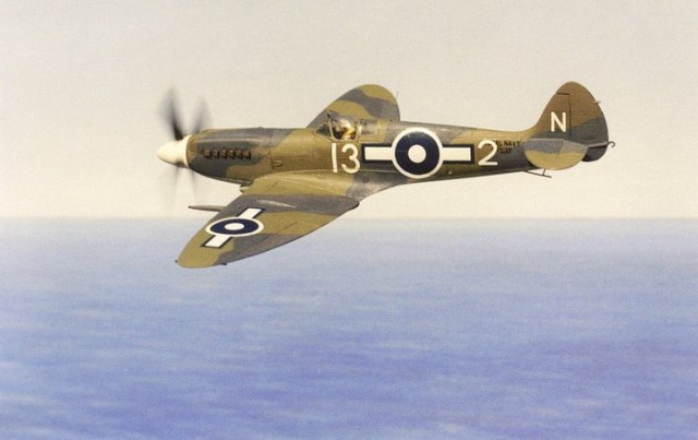 Seafire XV, 1/72 scale from VENTURA kit