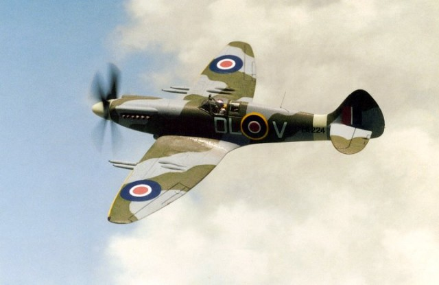 Spitfire FR Mk. XIVe, 1/72 scale from FUJIMI kit