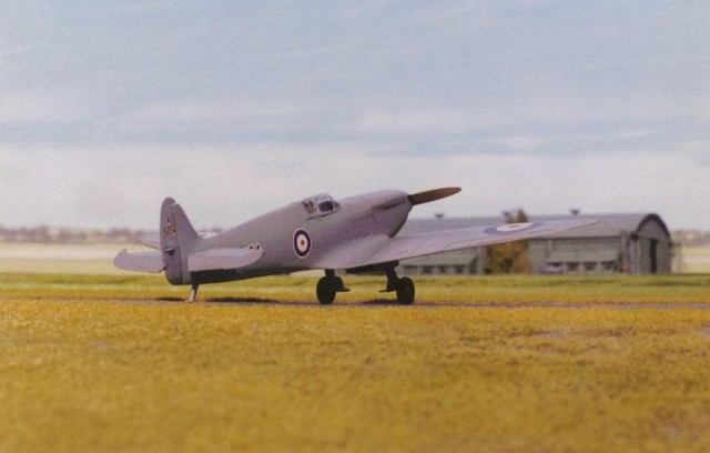 Spitfire prototype, 1/72 scale from PEGASUS kit