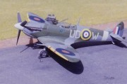 Spitfire Mk Vb, 1/72 scale from AIRFIX kit