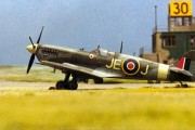 Spitfire Mk IXc, 1/72 scale from HASEGAWA kit