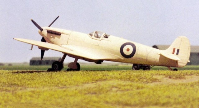 Spitfire PR Mk I, 1/72 scale from AIRFIX kit