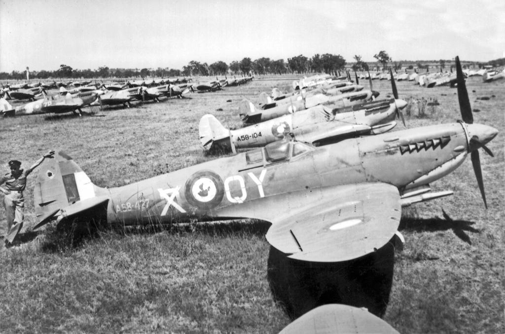 Oakey Australia  city photos gallery : Oakey Spitfires – Quest to Discover Mint Condition Buried Spitfires ...